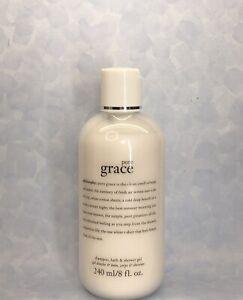 PHILOSOPHY Pure Grace Shampoo, Bath & Shower Gel Body Wash ~ 8oz/240ml New