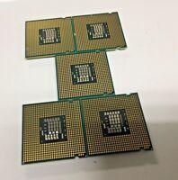 Lot of 5 SLB9J Core 2 Duo E8400 CPUs 3.0 GHz 6M 1333 processor