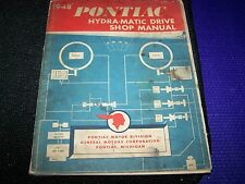 VINTAGE PONTIAC MOTOR DIVISION1948 PONTIAC HYDRA-MATIC DRIVE SHOP MANUAL