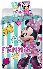 Disney Minnie Souris Draps de Lit pour Bébé 40 X 60 cm + 100 X 135 Cm