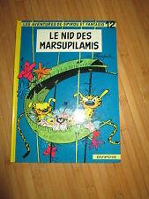 """BD """"Le nid des Marsupilamis""""par Franquin,édition Dupuis,en TBE"""