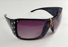 Zeal Optics Sunglasses UV 400 Black With Rine Stones