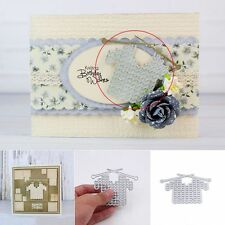 Sweater Style Metal DIY Cutting Dies Stencils Scrapbooking Photo Album Crafts