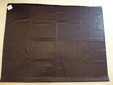 "Faux Leather Fabric in Aubergine Colour - W 55"" x L 84"" NEW"