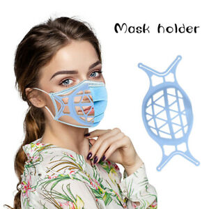 1pc Mask Holder 3D Stereo Silicone Inner Liner Breathable Mask SupportHCA
