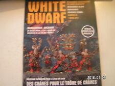 *** White Dwarf n°58 Khorne Wrathmongers Khorne Skullreapers Golden Demon 2014