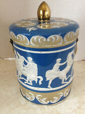 VINTAGE Riley's Toffee Tin with Lid and Handle