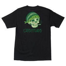 Creature Eric Dressen Pachuco Skateboard T Shirt Black Medium