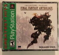 NEW SEALED Final Fantasy Anthology PS1 PSX Playstation 1,2,3
