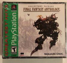 New Sealed Final Fantasy Anthology Ps1 Psx Playstation 1,2,3
