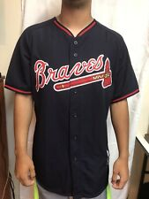 MAJESTIC 3800 OFFICIAL MLB ATLANTA BRAVES 2015 BP JERSEY