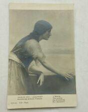 Salon De 1913 Postcard Jules Aviat L'Attente The Waiting, France Beautiful Woman
