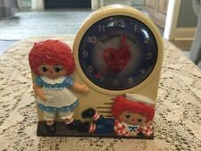 Raggedy Ann Andy Wind-Up Talking Alarm Clock,�Its Time To Call Our Friends�.