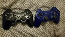 Two Playstation 3 PS3 Sony Sixaxis Wireless Controllers [READ DESCRIPTION]