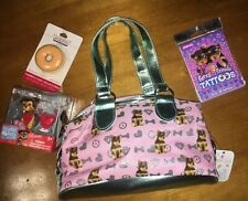Claire's Yorkie Purse Bag Toy Tattoo Donut Lip Gloss Lot Nwt