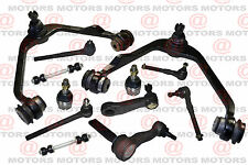 For Ford F150 03 Front Lh & Rh Upper Control Arms Tie Rods Sway Bar Lower Balls