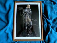 HAJIME SORAYAMA POSTER PRINT ART RARE JAPANESE ARTIST JAPAN F/S COLLECTIBLE