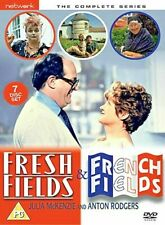 Fresh Fields and French Fields - 7 Disc Complete Series Box-Set Julia McKenzie