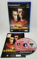 The Sum of All Fears Video Game for Sony PlayStation 2 PS2 PAL TESTED