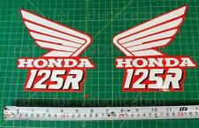 89' 1989 CR125 dirtbike decals stickers CR 125 CR125R 250R AHRMA VMX Elsinore