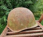 Original Military Helmet SSh 39 Steel WW2 Relic of Battlefield Soviet Army Size3