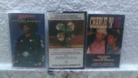 Charlie Daniels Band 3 Audio Cassette Tape Lot RARE Outlaw Country Honky Tonk