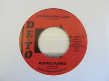 """RONNIE McNEIR Sitting In My Class 7"""" Single"""