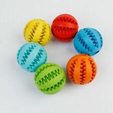 Holder Treat Rubber Ball Training Chew Bite Pet Dog Puppy Cat Toy Dispensing New