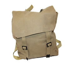 Israeli Military Small Canvas Backpack