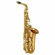 YAMAHA Alto Saxophone YAS-875EX Custom Model Eb Key Gold Lacquer Beautiful box