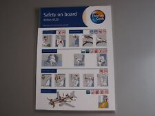 Thomas Cook Airlines Airbus A320 Safety On Board Card