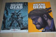 lot 2 BD Walking Dead tomes 1 et 2 - Delcourt