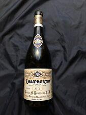 2012 Domaine Armand Rousseau Pere et Fils Chambertin Grand Cru, Empty Bottle