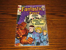 Marvel - FANTASTIC FOUR #45 - 1st Appearance INHUMANS!!  1965 Glossy VG