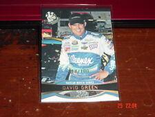 David Green 2007 Press Pass Platinum #P41 Ser. # 18 of 100