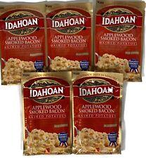 5 Packs Idahoan Applewood Smoked Bacon Mashed Potatoes 4 Oz each