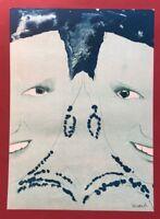 Robert Lucander, Gefährliches Doppelspiel 2, Kombinationsdruck, 2006, signiert