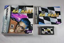 Karnaaj Rally (Nintendo Game Boy Advance GBA) Complete