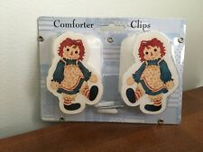 New Raggedy Ann & Andy Comforter Wall Hanging Clips by Spring Baby