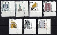 Bund SWK postfrisch Eckrand 2302,2301,2300,2299,2298..Sehenswürdigkeiten Ecke 4