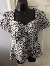 Blouse Size 12 Next Made With Love Peplum Style New Without Tags