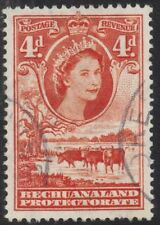Elizabeth II (1952-Now) Handstamped British Singles Stamps