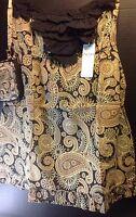 Mud Pie Strapless Dress & Tech Case Womens Small Size 4-6 Beach Cruise Resort