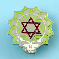 Grateful Dead Pin steal your face star of david geometric