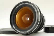 【Exc+++】 Canon FL 19mm F/3.5R  MF Wide Angle Lens From Japan (057)