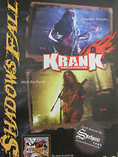 Shadows Fall, Krank Amplification, Full Page Promotional Ad
