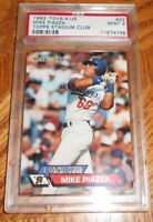 1993 Toys 'R Us Topps #22 MIKE PIAZZA  Rookie PSA 9 PLUS 100 CARD SET PLUS 12