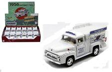 12 Pack 1956 Ford F-100 Ice Cream Good Humor Truck Die-cast 1:38 Kinsmart 5 inch