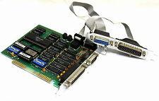 WINBOND 8-BIT ISA I/O CONTROLLER CARD W86C450 PAL-SPG 1 2 PARALLEL SERAIL JOYSTI