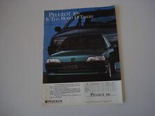 advertising Pubblicità 1991 PEUGEOT 106